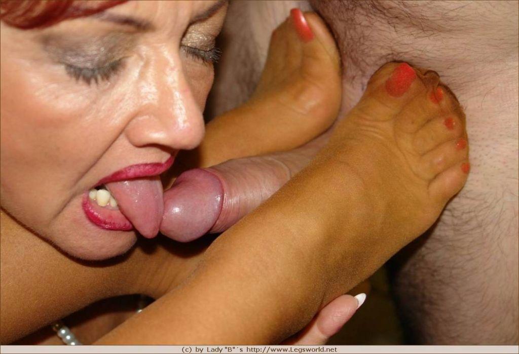Lady Barbara Nylon18 Daft Sex 1