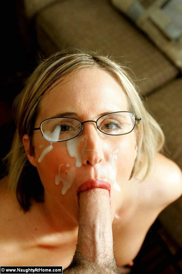 Busty Blonde Blowjob Pov