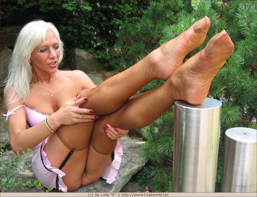 German Blonde Milf Big Tits