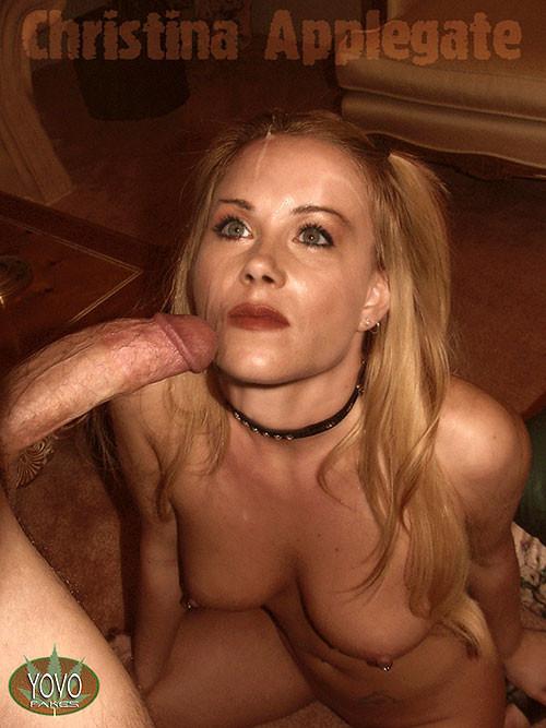 Young naked bar girl