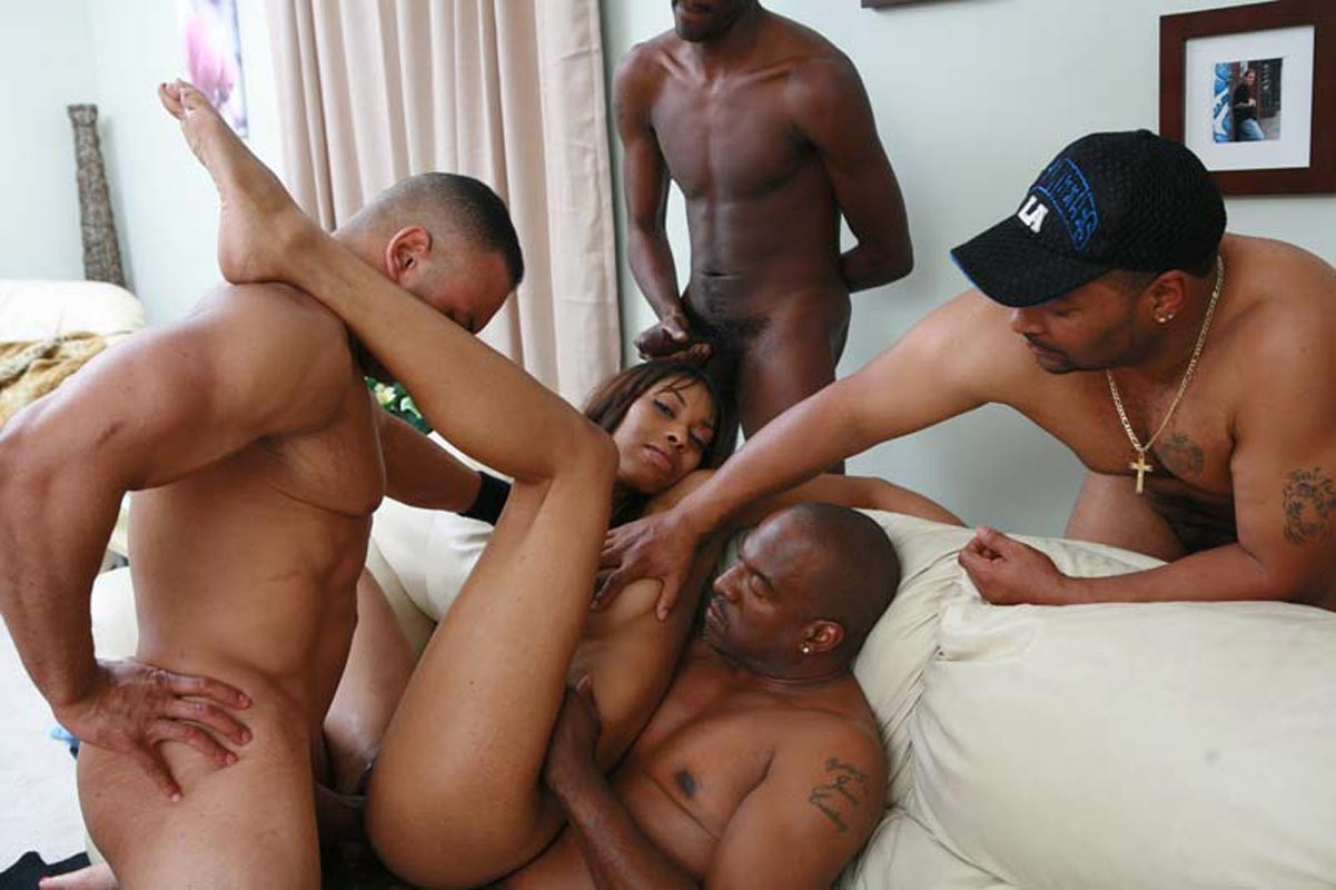 Interracial Couple Black Ebony