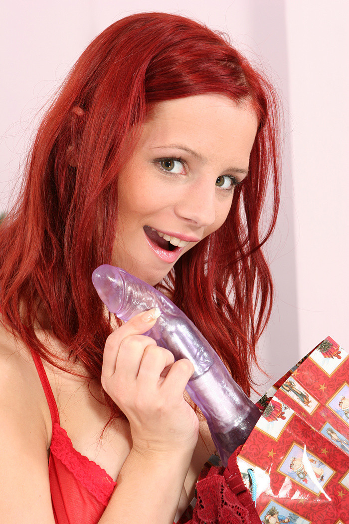Redhead Teen Dildo Blowjob
