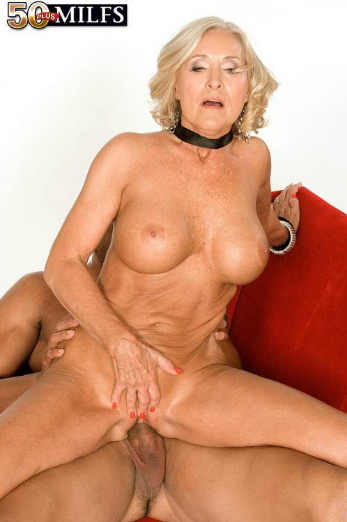 Perfect granny tits