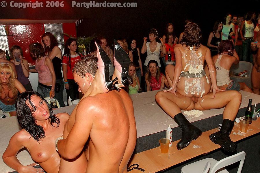 Disco party orgy