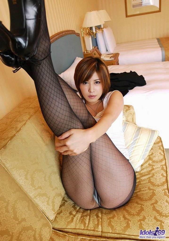 japan officelady pussy Sexy Japanese office lady Tsubaki posing
