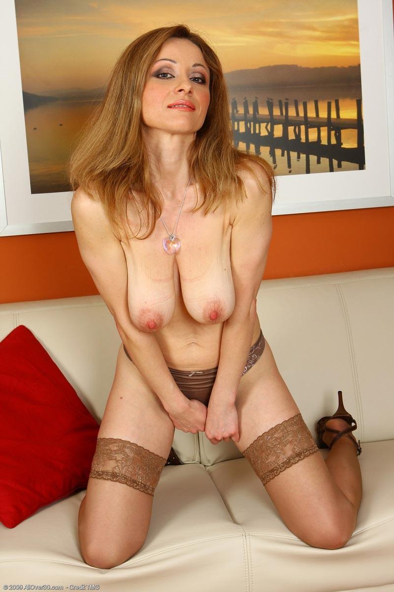 Camille Crimson Topless Portrait