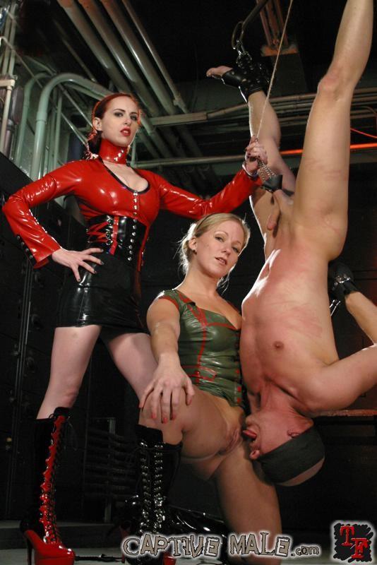 Mixed Bondage Sex Wrestling