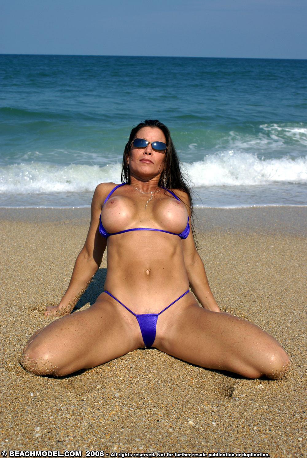 Milf Thong Bikini