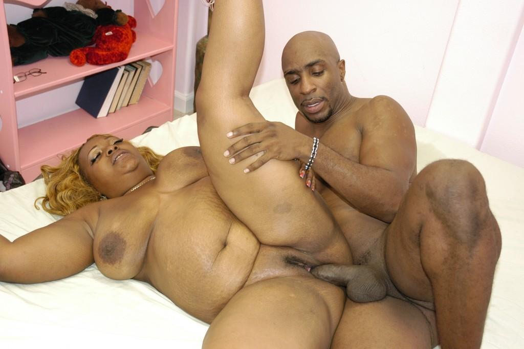 Sex black fat