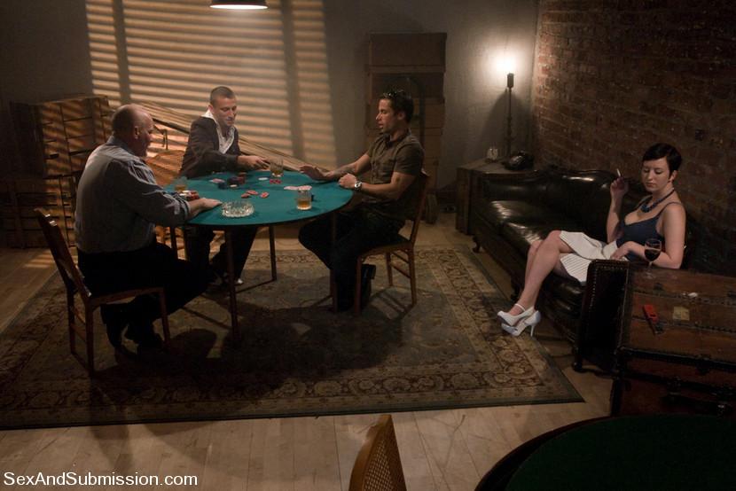 cherry torn poker
