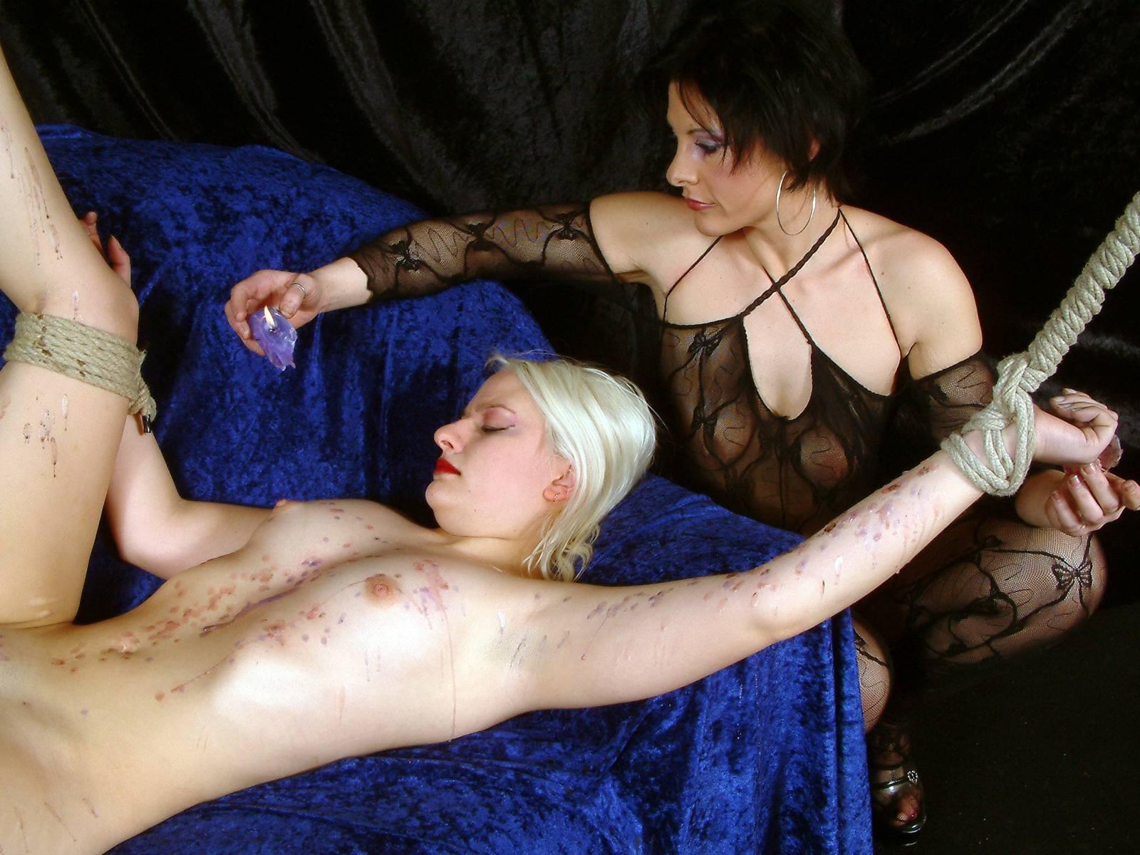 Lesbian Straight Girl Bondage