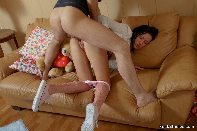 Girl Gets Punished Strapon