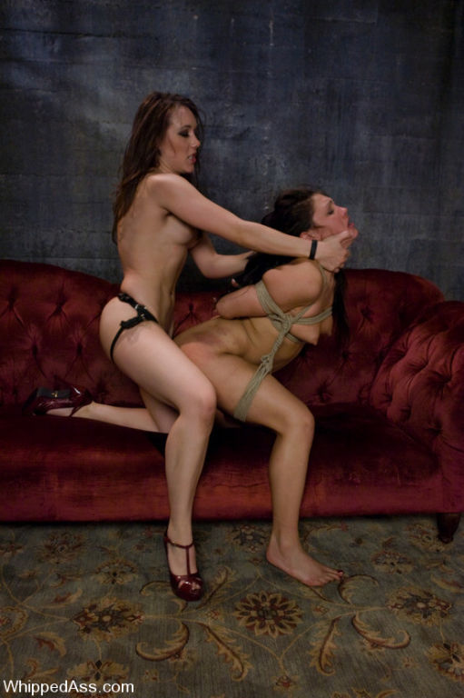 Big Tit Latina Lesbian Strap