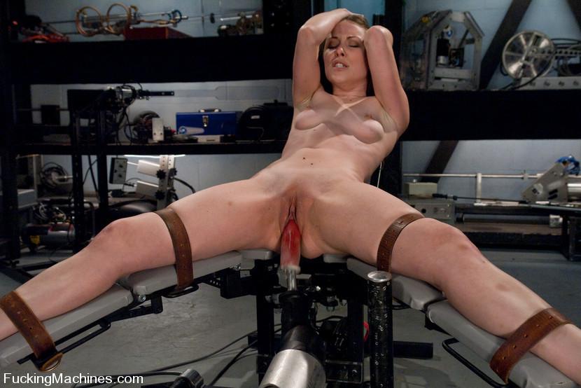 Mature Lesbian Sex Machine