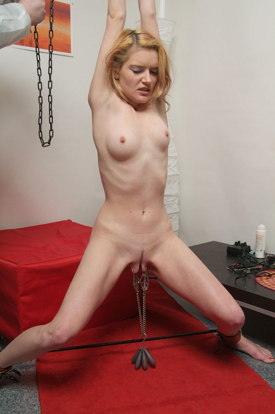 Webcam Blonde Anal Threesome