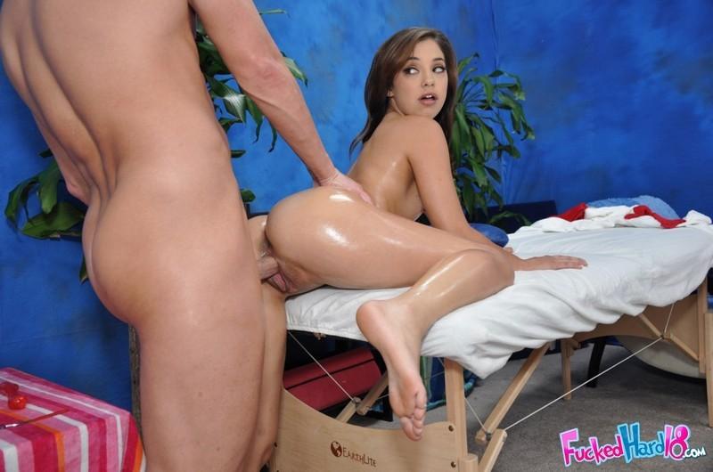 Latina Teen Massage Fuck