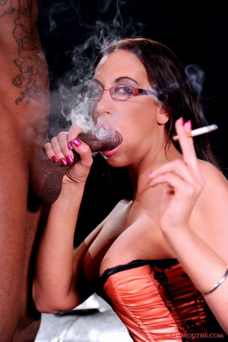 Kentucky Woman Chain Smoking On Her Bed