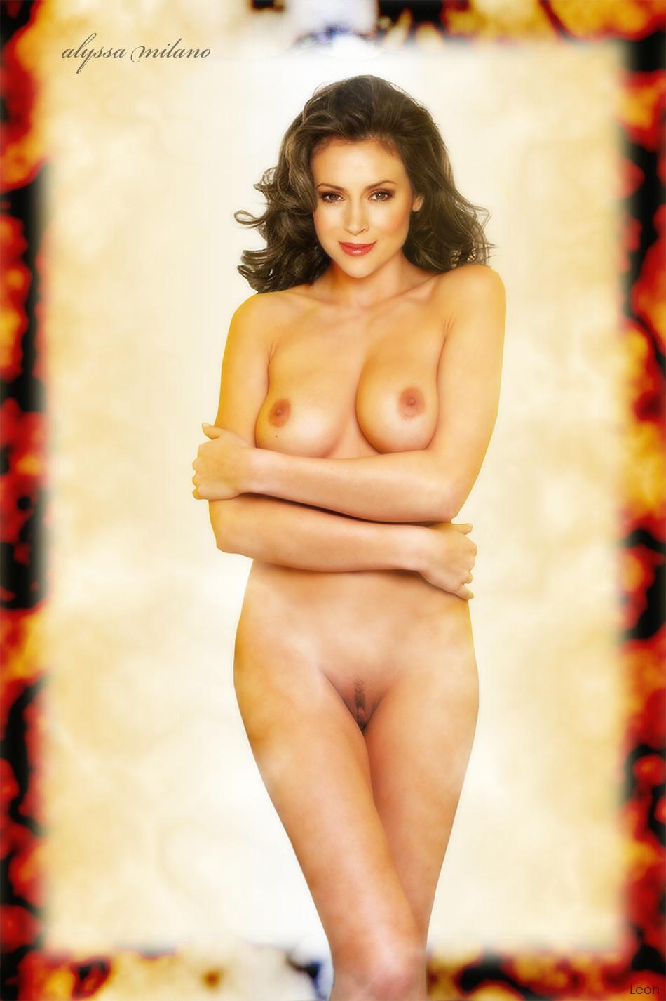 Alyssa Milano Nude Free alyssa milano loves getting a hot facial after cocksucking