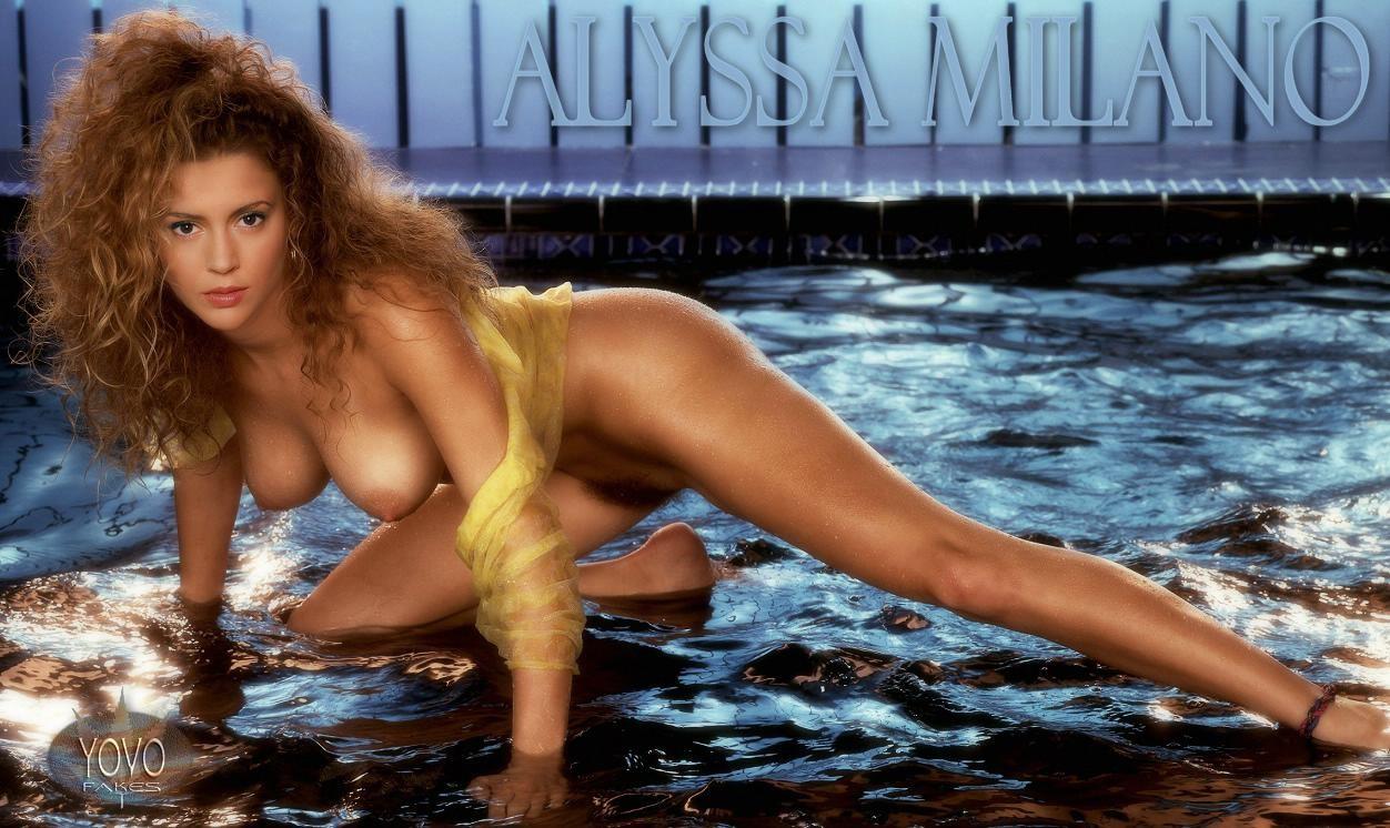 Alyssa Milano Sex Fakes alyssa milano loves getting a hot facial after cocksucking