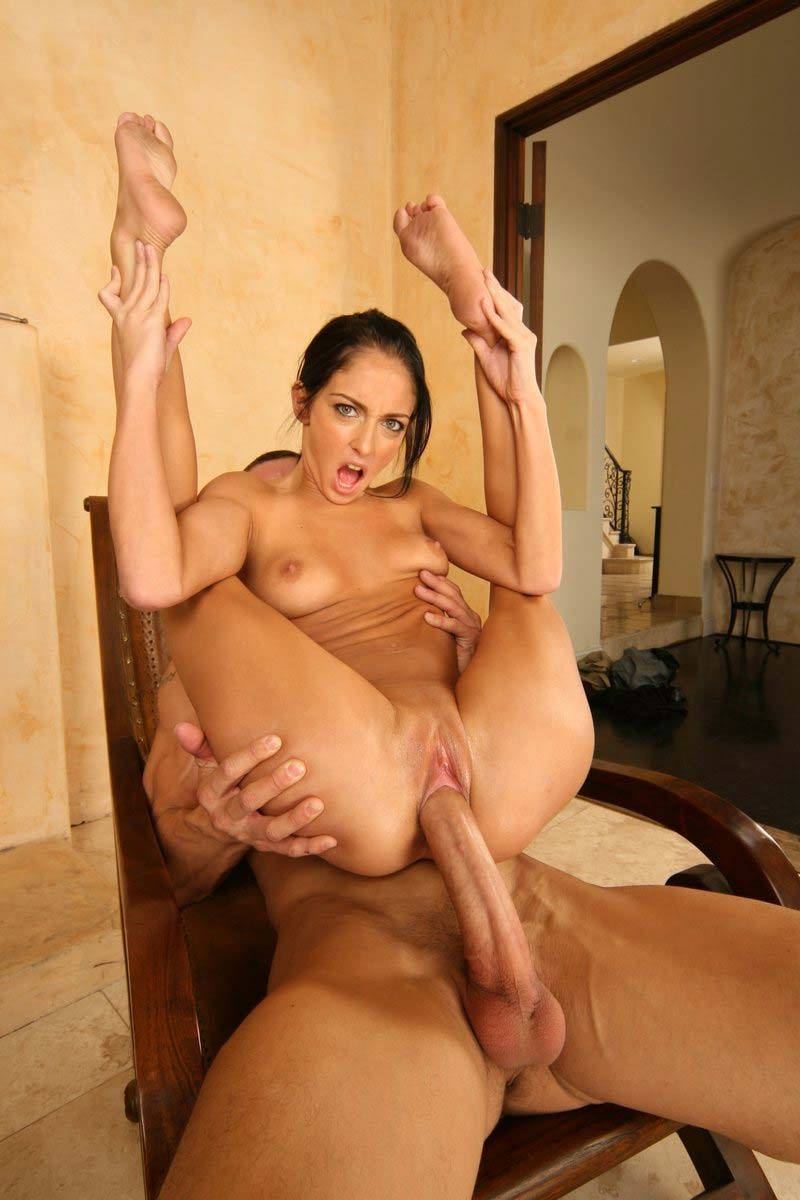 Chubby Latina Takes Big Dick