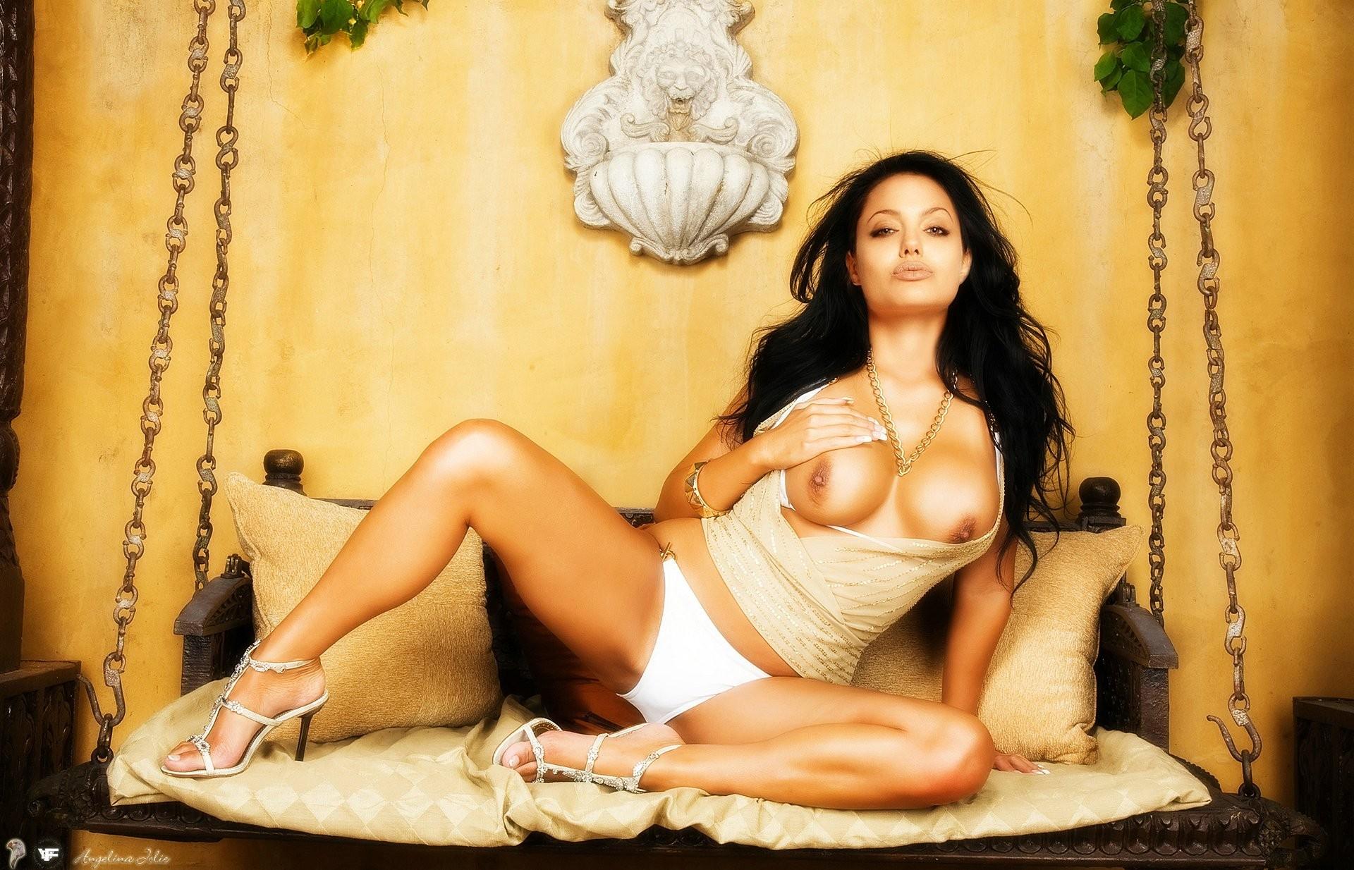 Angelina Jolie Film Nuda angelina jolie loves getting fucked doggiestyle on the floor