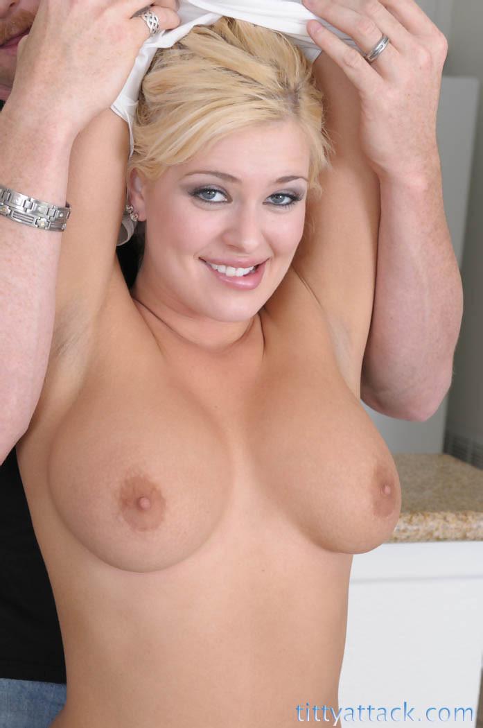 Busty Blonde Teen Bikini
