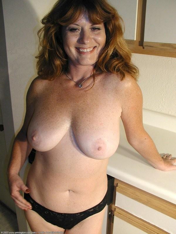 amateur mature redhead nude hairy