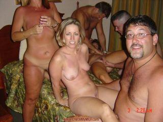 Big cum shower five men