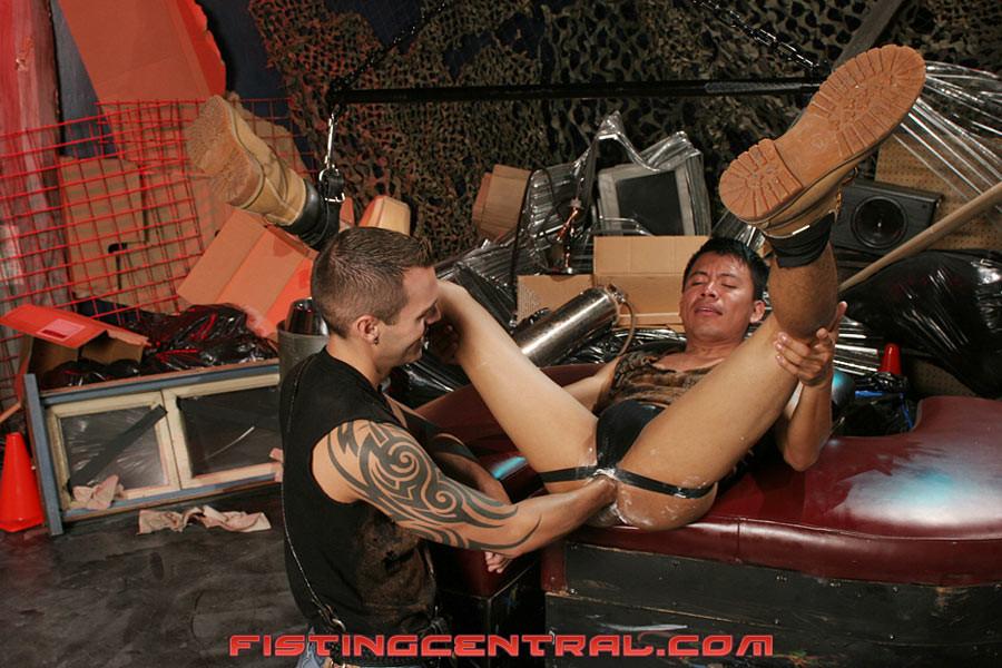 Tattoo gay fisting video