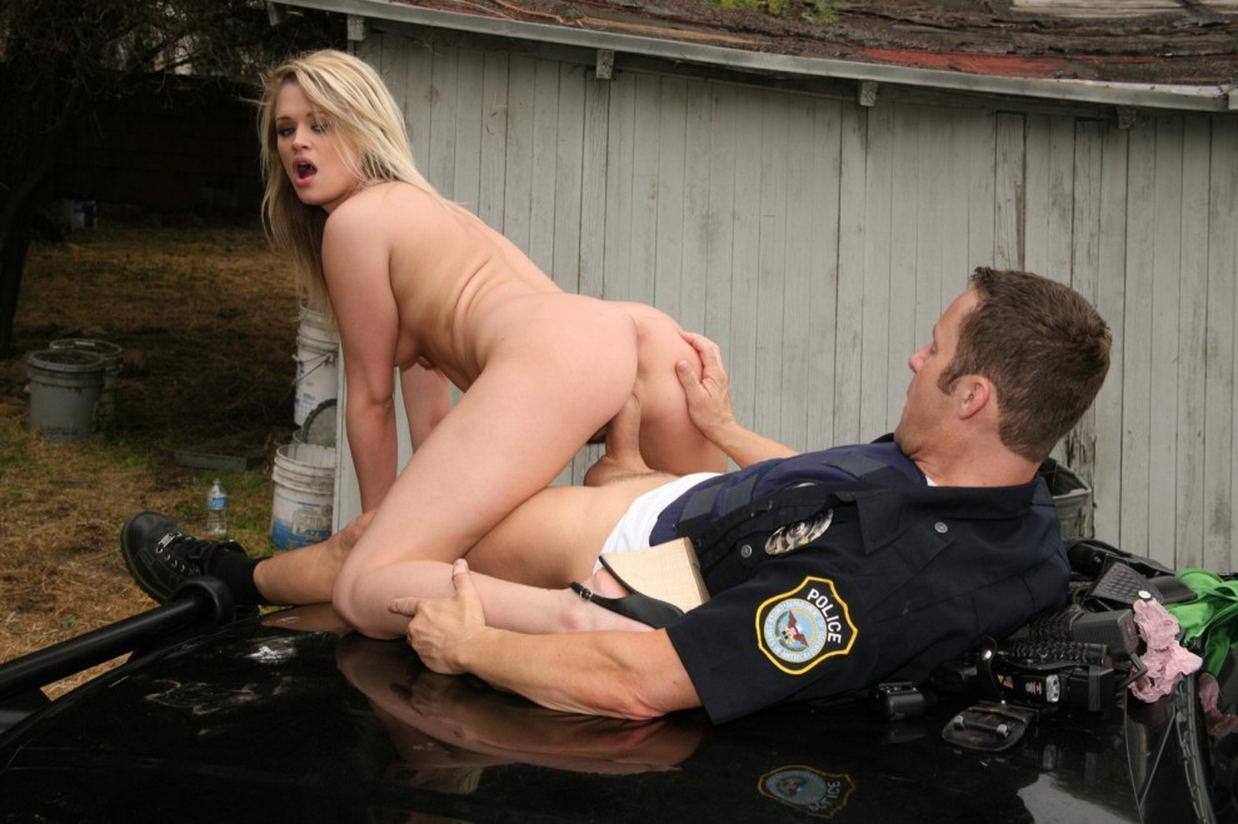 Police Girl Fuck