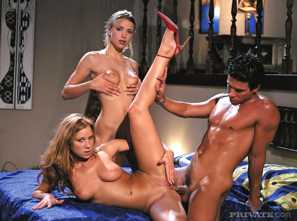 Valentina Nappi Threesome Anal