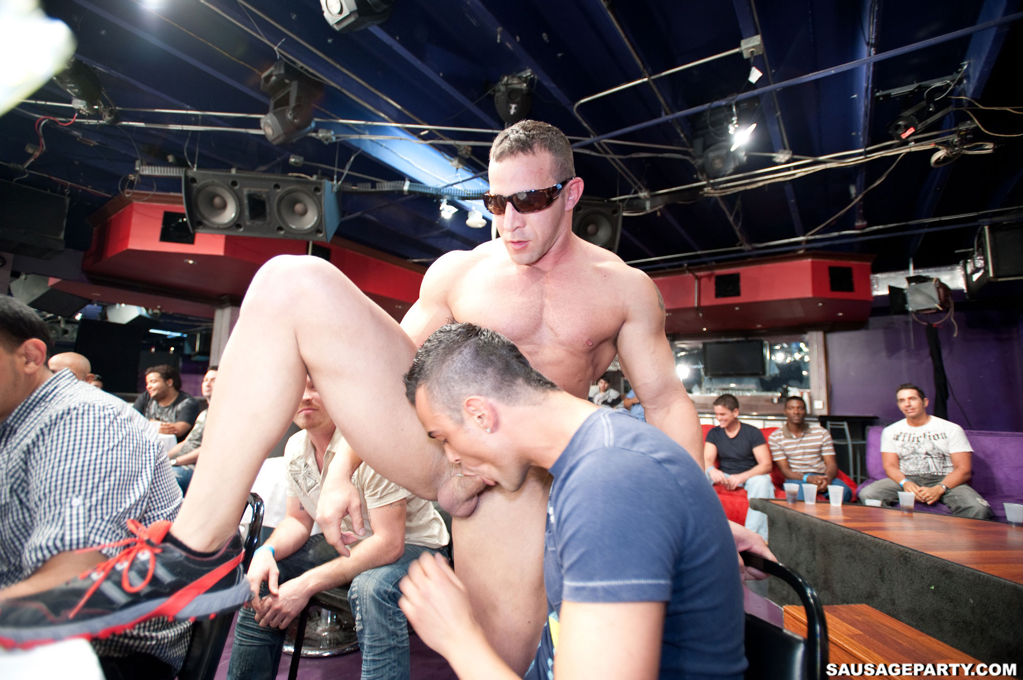 Stripper gay sex