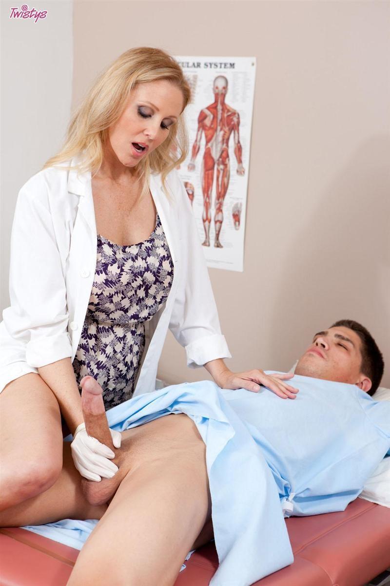 Busty Nurse Fucks Patient