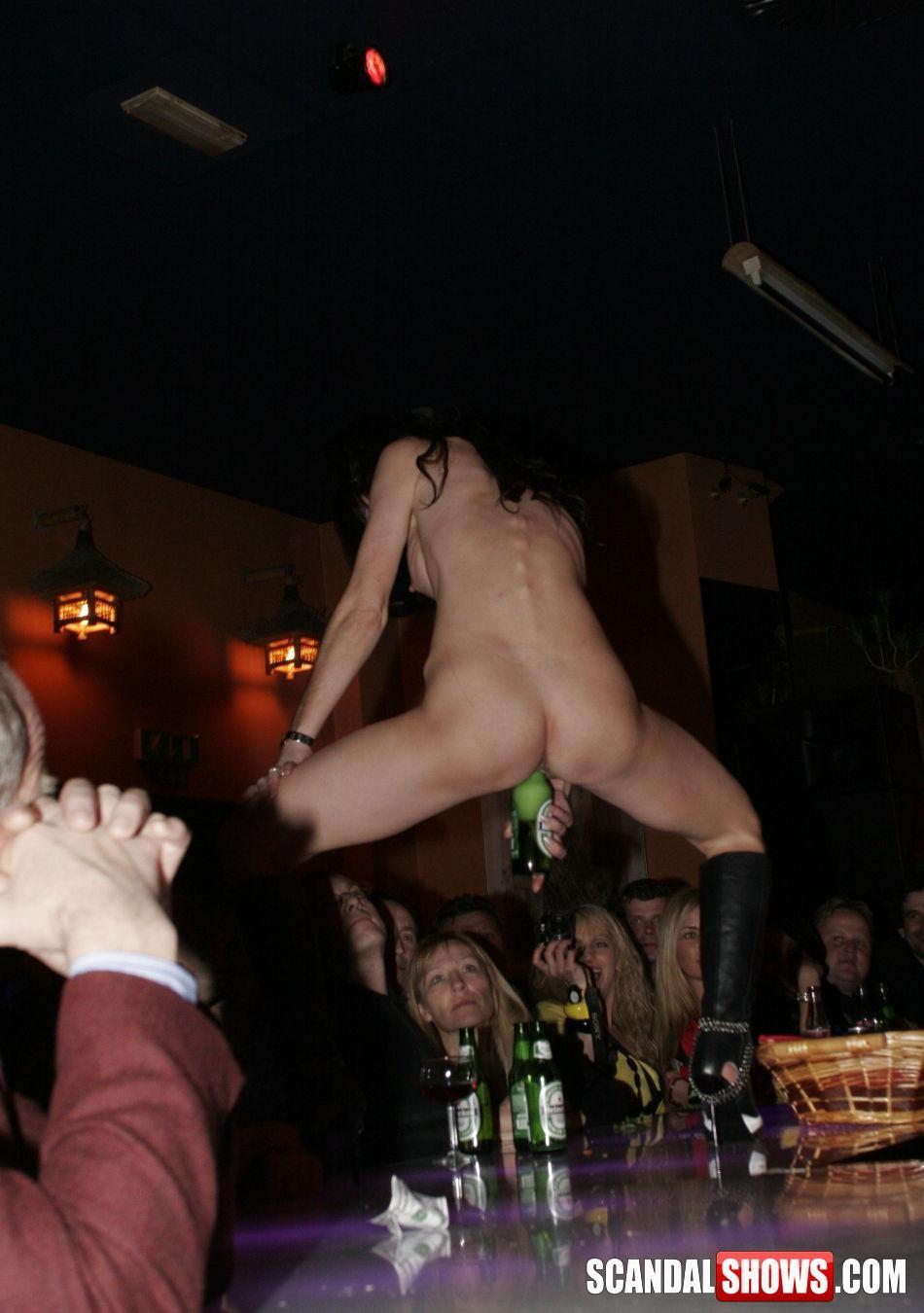 Thick White Teen Striptease