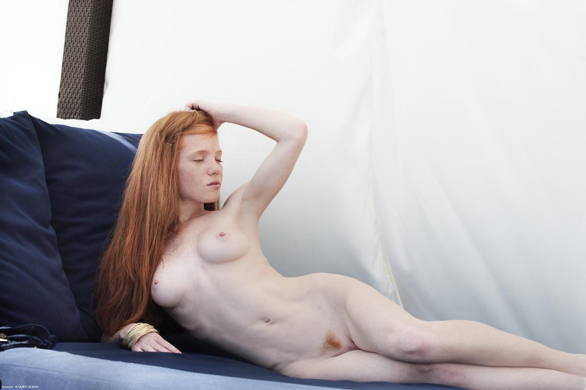skinny hot nude redhead
