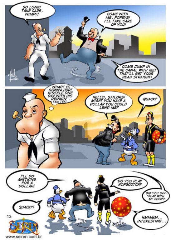 Power Rangers порно комиксов