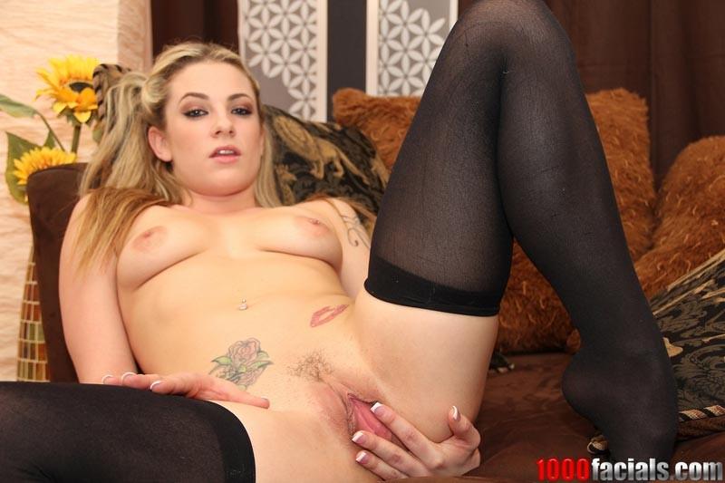 Nipple Piercing Teen Blonde
