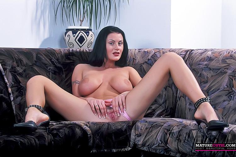 Brunette Big Tits Lesbian