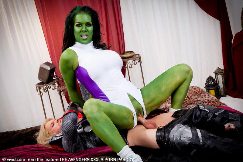 she hulk gets fucked
