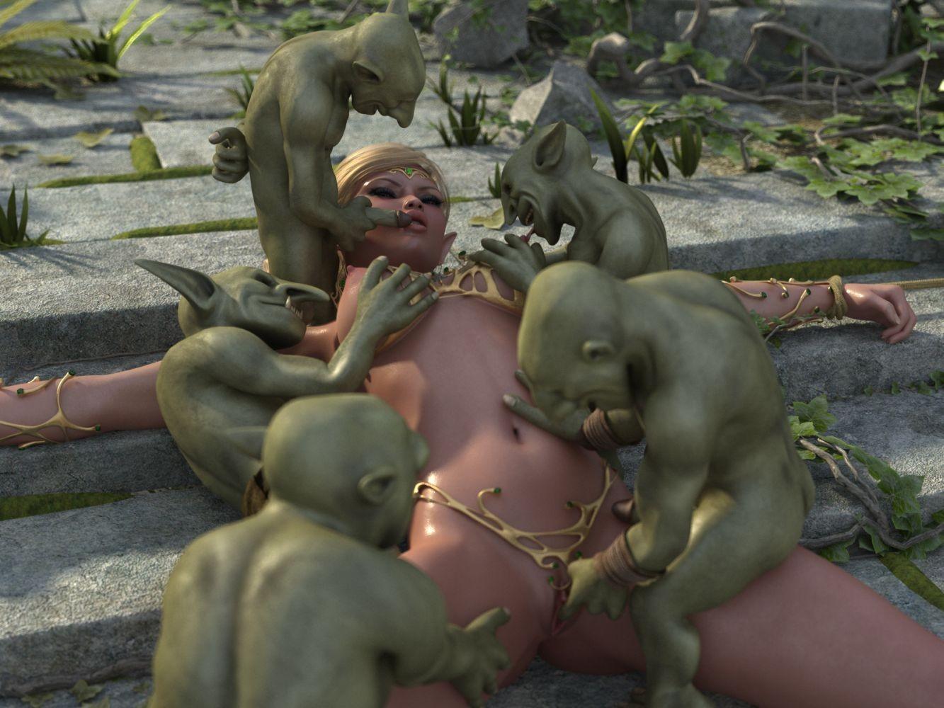 3D Monster Gangbang 3d goblin monster | www.freee-porns