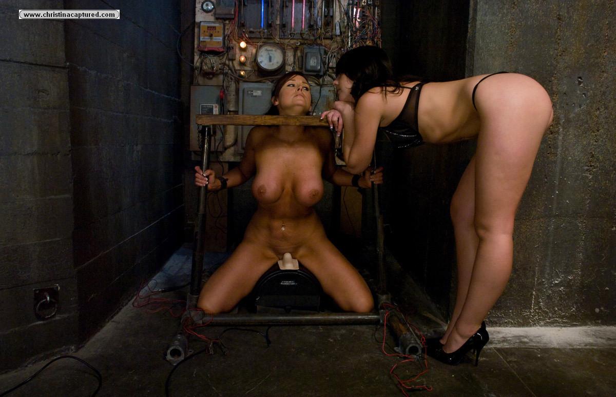 Lesbian Sex Slave Bondage