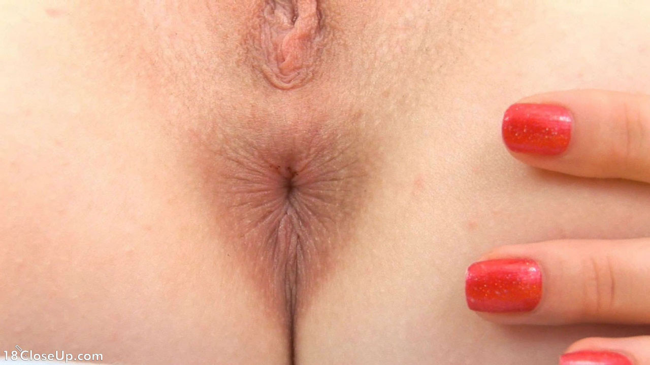Anal Masturbation Close Up