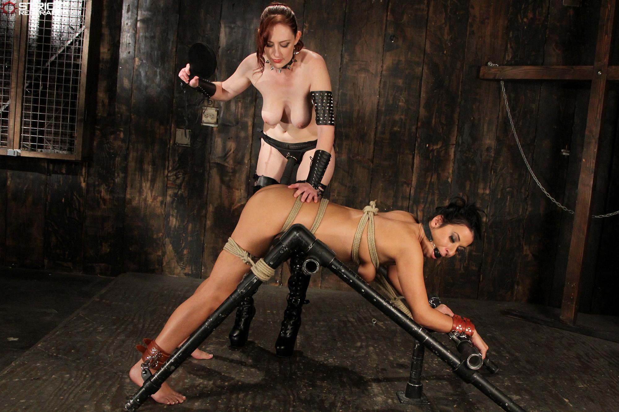 Sadistic Bdsm Torture Impaled