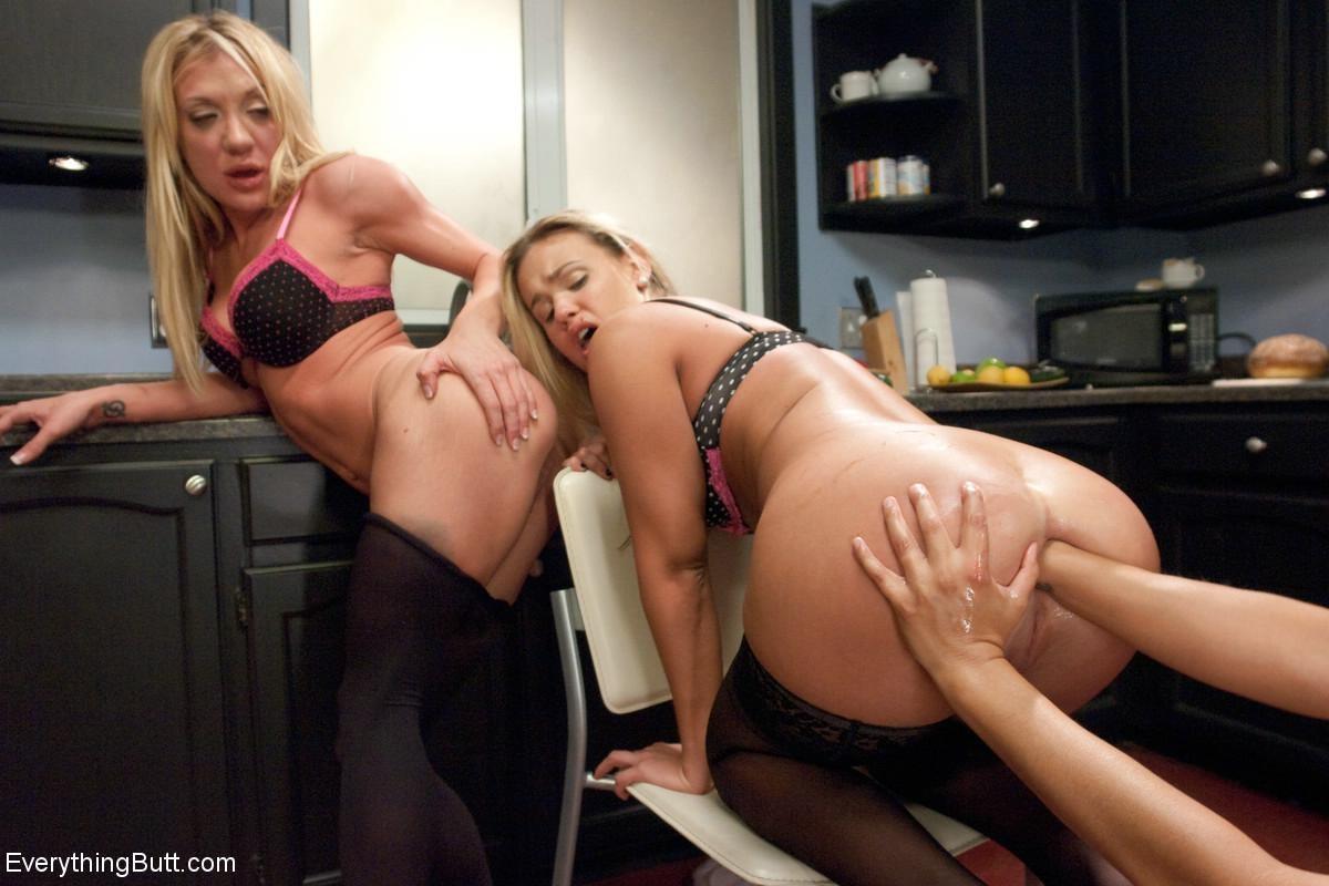 Lana Rhoades Threesome Anal