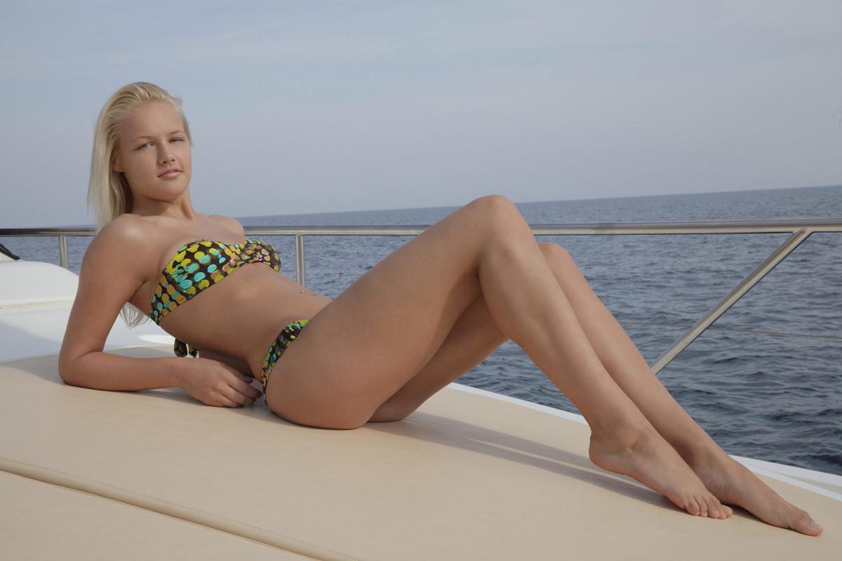 young petite bikini nude