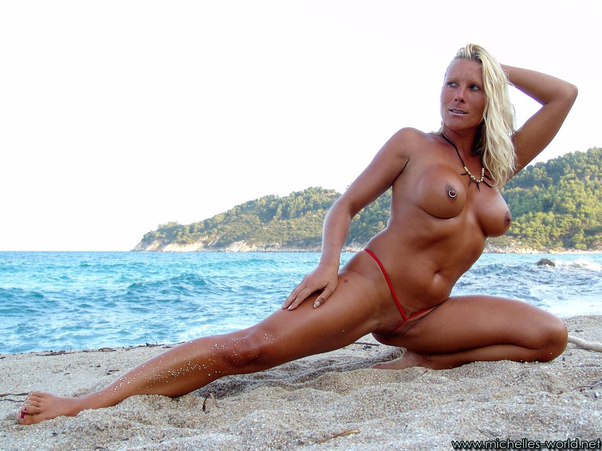 nude milf in beach