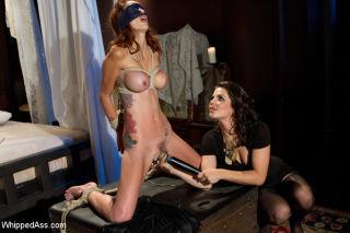 Monique Alexander    Bobbi Starr    Whipped ass    BDSM    Bondage    Femdom    Fetish    Lesbians    Pain    Spanking    Submissive thumbnail