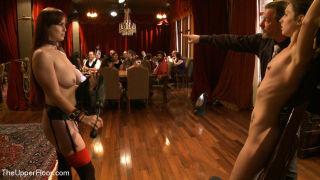 Kristine Kahill    Bella Rossi    The Upper Floor    BDSM    Bondage    Flash    Group Sex    Humiliation    Pain    Slave    Train thumbnail