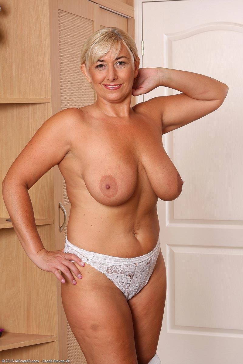 Mature Blonde Small Tits Anal