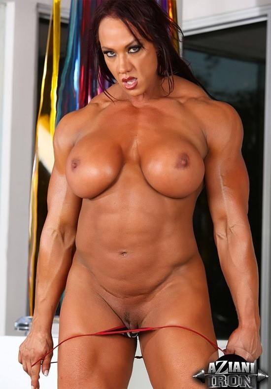 Gina carano getting nude in public